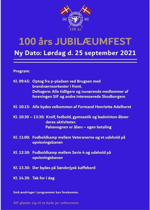 100-års jubilæum d. 25 September